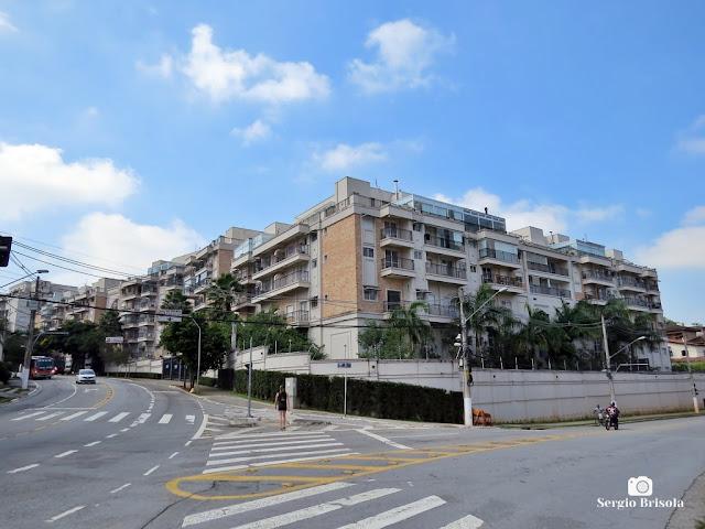 Vista ampla do conjunto de Edifícios Andalus by Cyrela - Morumbi - São Paulo