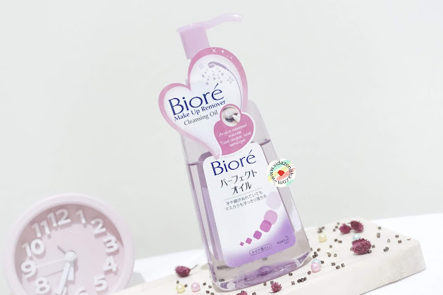 Biore Cleansing Oil untuk double cleansing