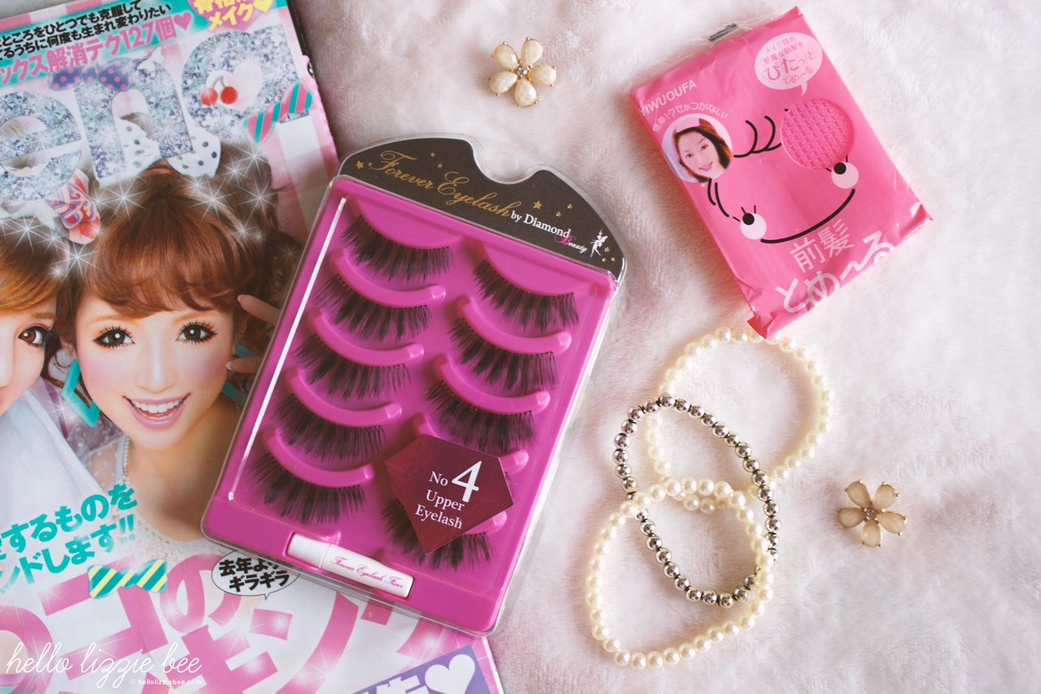 diamond lash, gyaru lashes, false lashes