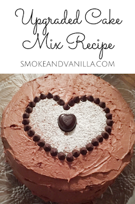 Upgraded Cake Mix by smokeandvanilla.com - A simple recipe for significantly improving store-bought cake mix. http://bit.ly/2nbEjAV