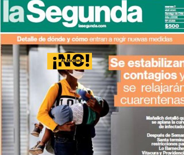 Inaceptable: Denuncian sesgo racista en portada de Diario La Segunda