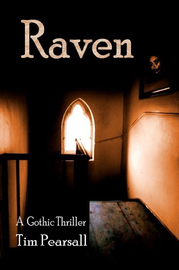 Raven: A Modern Gothic Thriller by Tim Pearsall, horror, supernatural/paranormal, book review,
