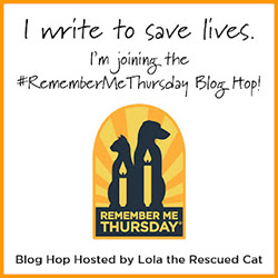 REMEMBER ME THURSDAY Blog Hop