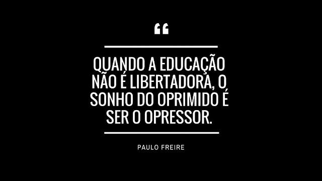 frase de Paulo Freire