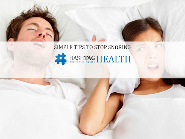 Simple Tips to Stop Snoring