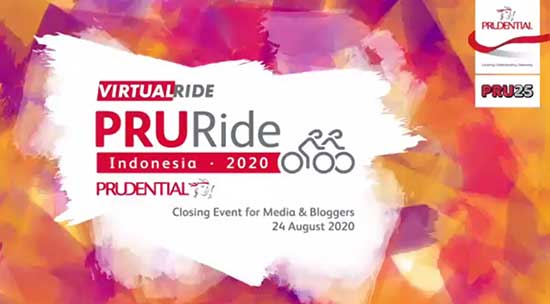 PRURide Indonesia 2020 Virtual Ride. (Istimewa)