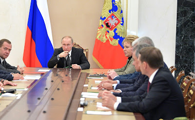 Meeting with permanent members of Security Council.