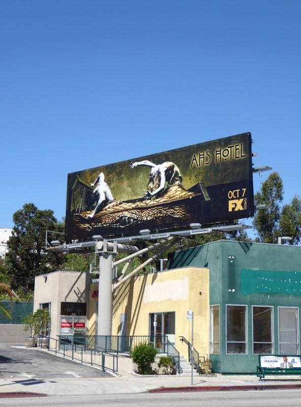 AHS Hotel billboard