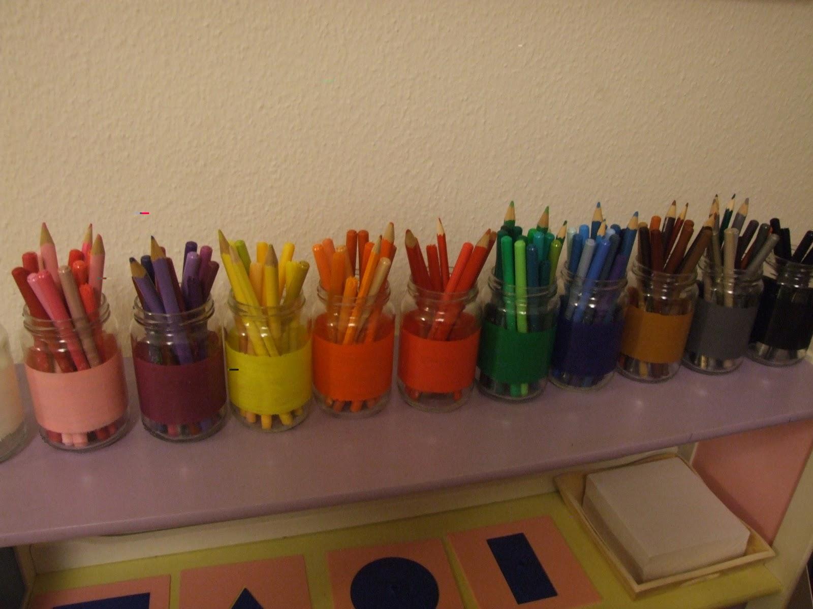 Rangements crayons boîte rangement pour crayons stylo bureau