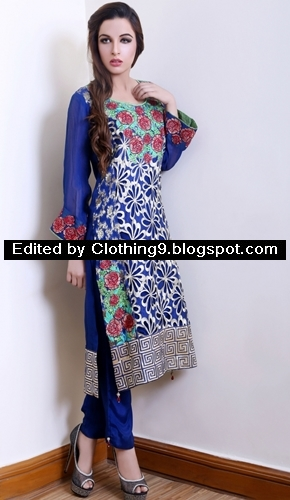 Needlez By Shalimar Eid-ul-azha Dresses 2015