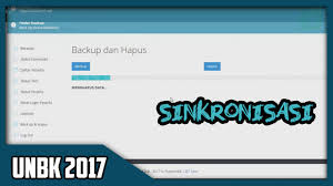 sinkronisasi unbk ubk 2017
