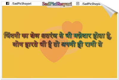 2 line shayari for life