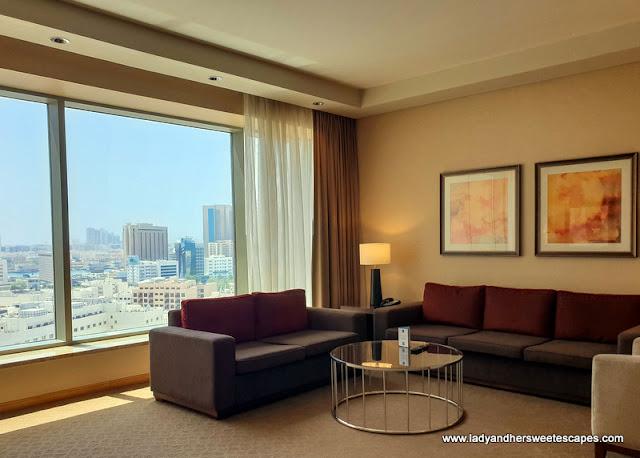 Swissotel Al Ghurair Deluxe Suite