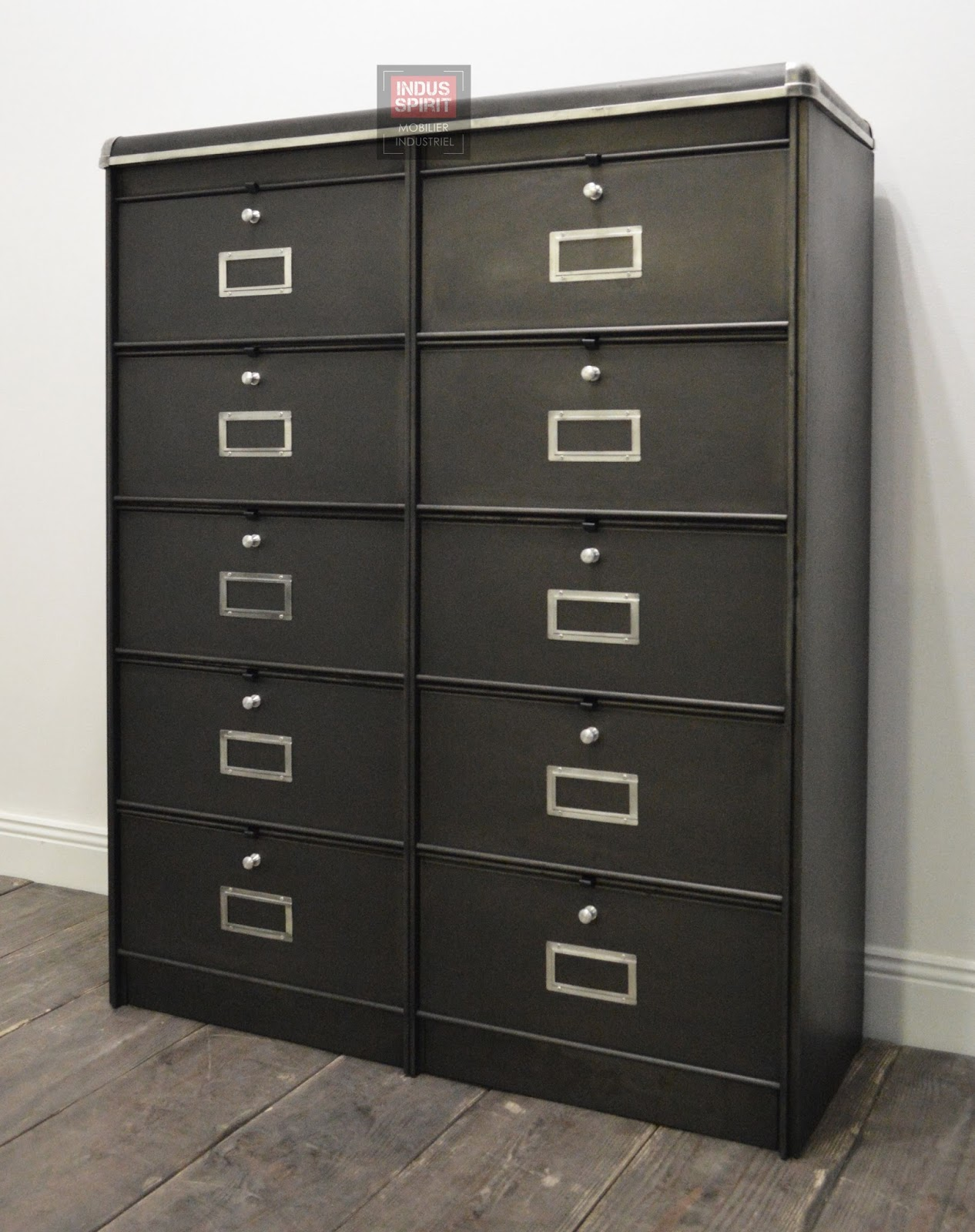 meuble clapet double ron o. Black Bedroom Furniture Sets. Home Design Ideas