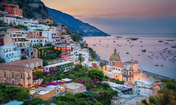 Atrani on Amalfi coast, Campania