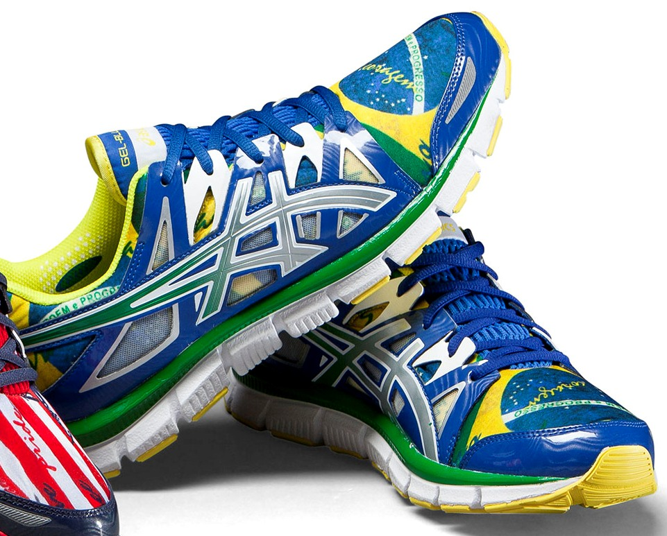 ASICS GEL Blur 33 2.0 Flag Collection Kirill Tsvetkovas blogg  Блог Кирилла Цветкова