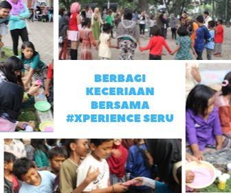 Berbagi Keceriaan Bersama #Xperience Seru