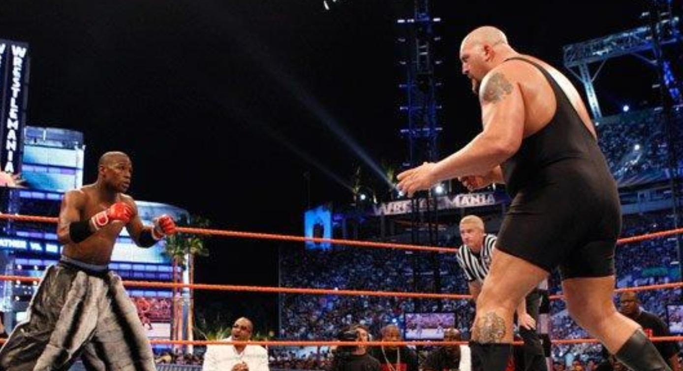 Mayweather Earn $20 million in WWE