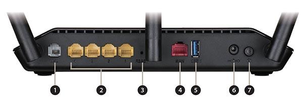 WirelessRouter, ADSL/VDSL, AC1600