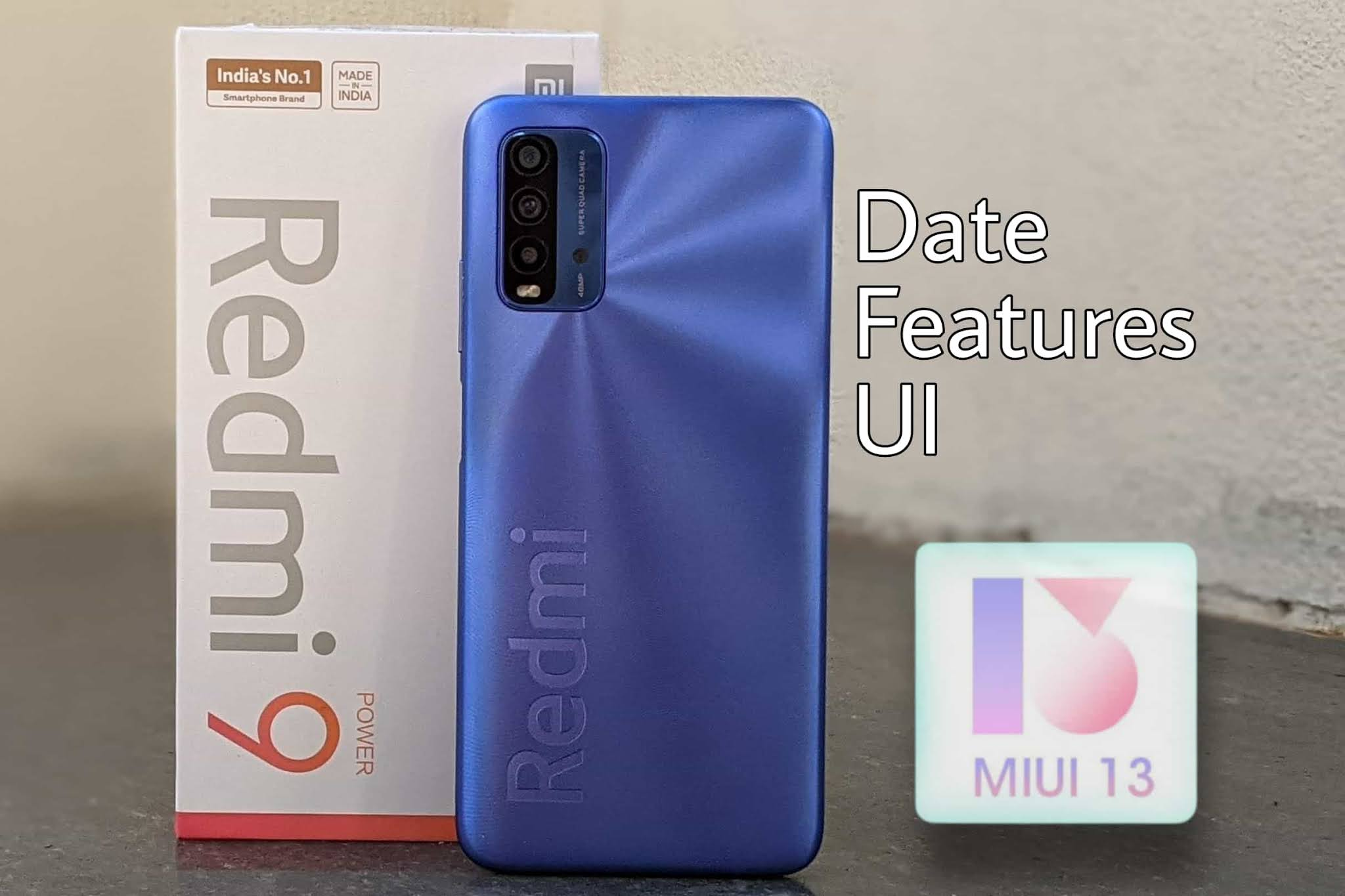 Redmi 9 Power MIUI 13