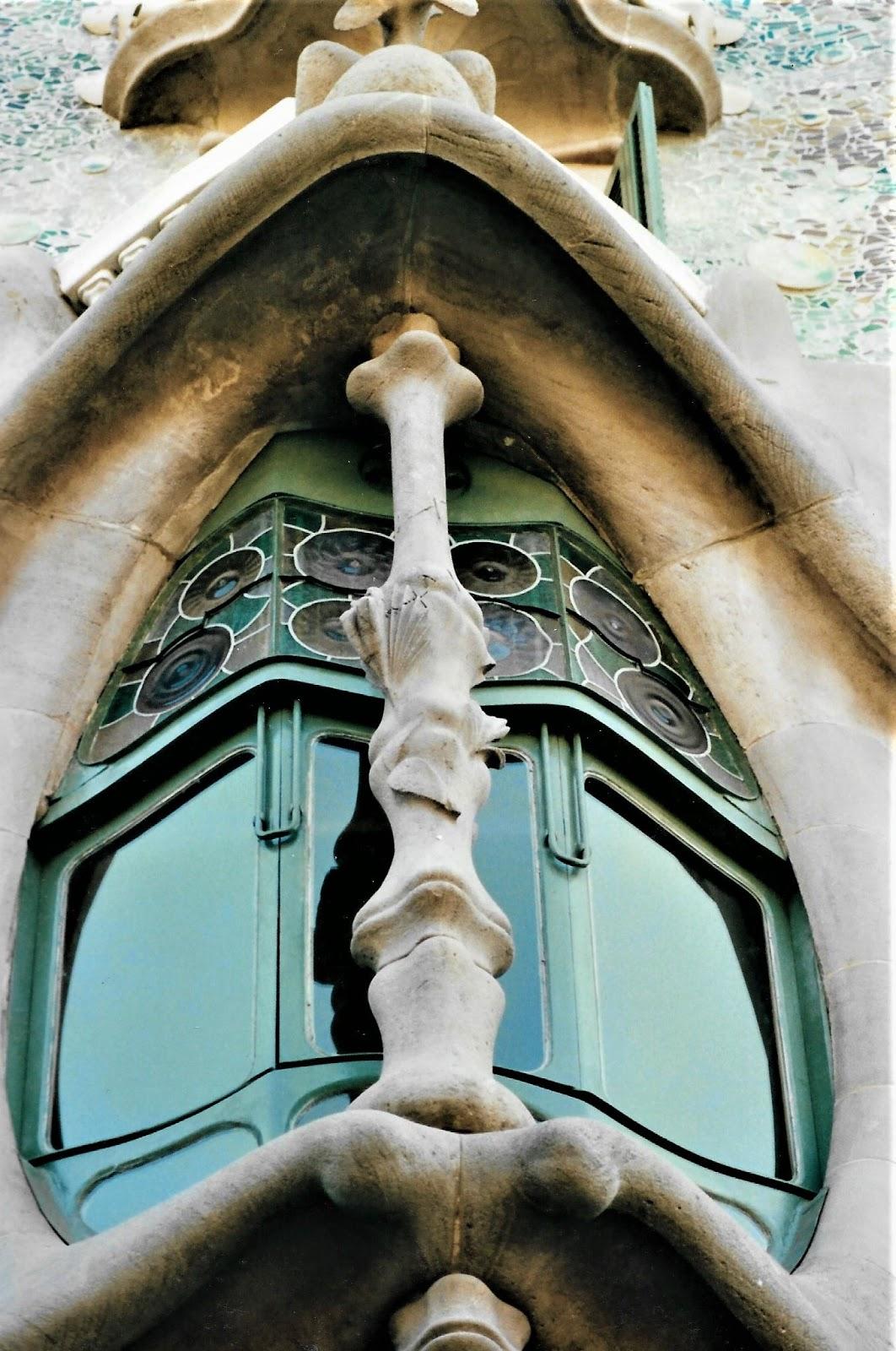 Gaudího díla v Barceloně