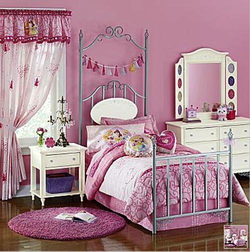 Design classic interior 2012 decoraci n de habitaci n preciosa para ni as chicas dise o de - Decoracion habitacion de nina ...
