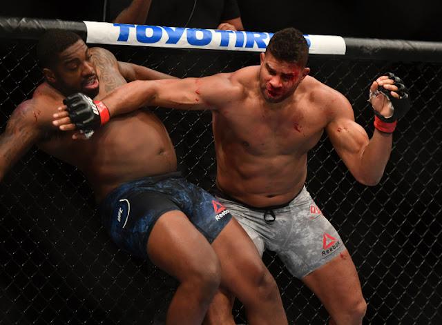 Alistair Overeem Walt Harris UFC on ESPN 8