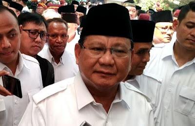 Prabowo Minta Polisi Tenang Hadapi Demo Mahasiswa