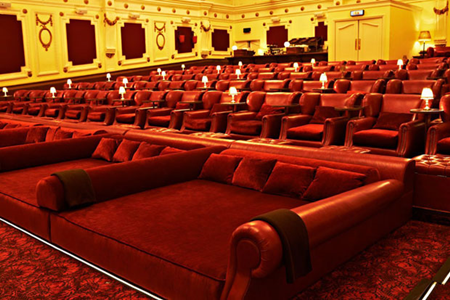Cinema confortável