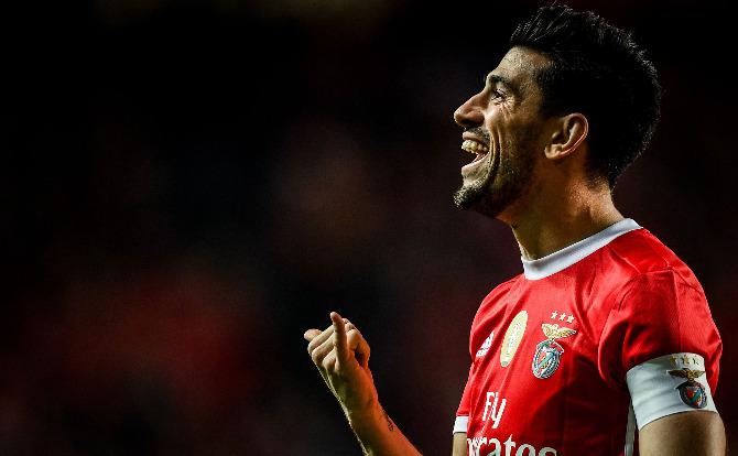 Benfica - Pizzi em grande forma