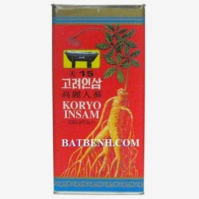 Nhân sâm hàn quốc Koryo Insam