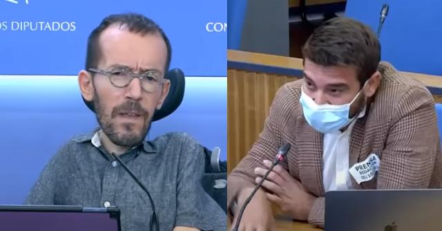 Pablo Echenique y Javier Negre