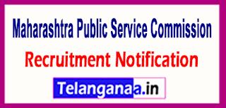 MPSC Maharashtra Public Service Commission Recruitment Notification 2017 last date 06-06-2017