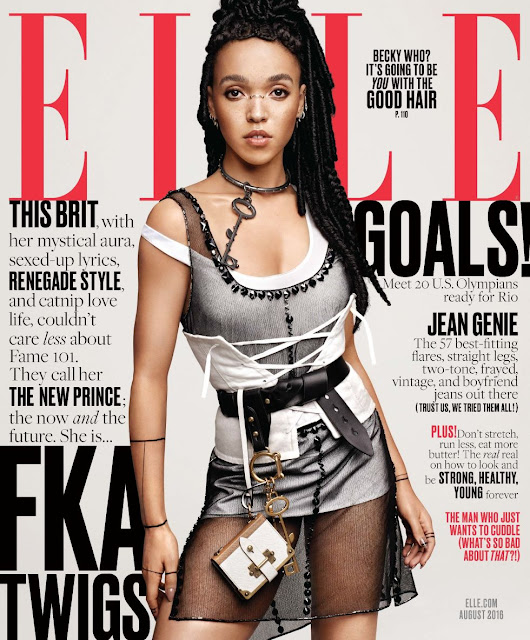 Singer, @ FKA Twigs for Elle US, August 2016