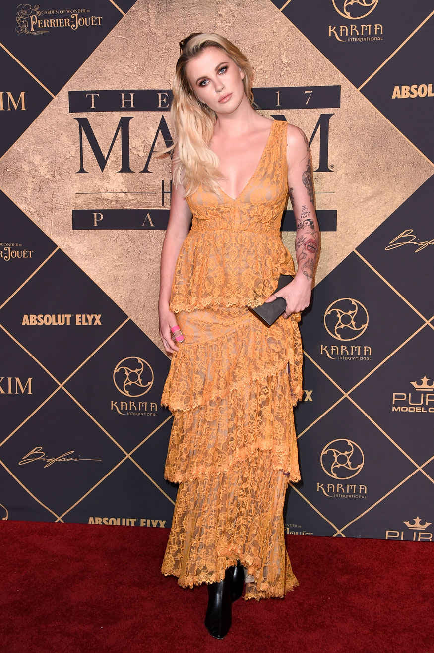 Ireland Baldwin Attends The 2017 MAXIM Hot 100 Party at Hollywood Palladium