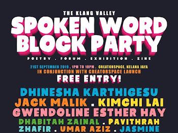 SPOKEN WORD BLOCK PARTY