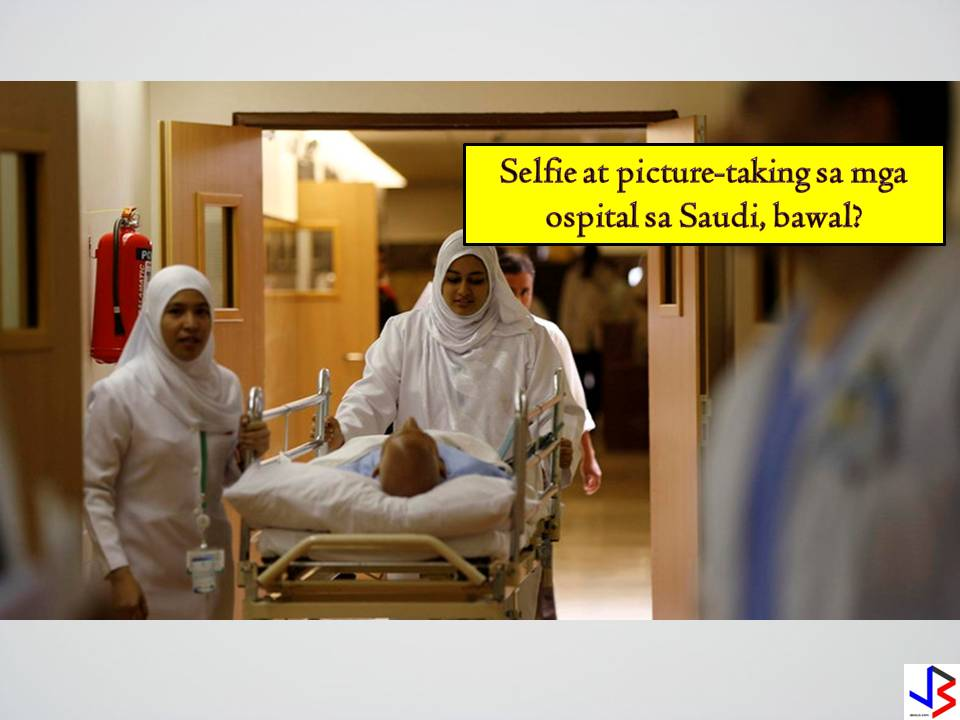 Taking pictures on the hospital premises is no longer allowed in some hospitals in Saudi Arabia.  This is according to the new regulation in line with the increasing phenomenon of snapping pictures inside the health facilities with a purpose of publishing them on social media with the intent to defame the facility or point out faults.In King Khalid Eye Specialty Hospital in Riyadh, there are signs that gives warning to anyone caught taking pictures with a penalty of confiscation of devices or face police action.  But according to Anti-Information Technology Crime Law the penalty in taking pictures of in hospital premises includes:  Minor Offense - One year imprisonment and maximum fine of SR500,000  More Serious Offenses -10 Years in Jail and fine of SR5 million