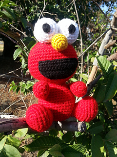 free elmo crochet patterns