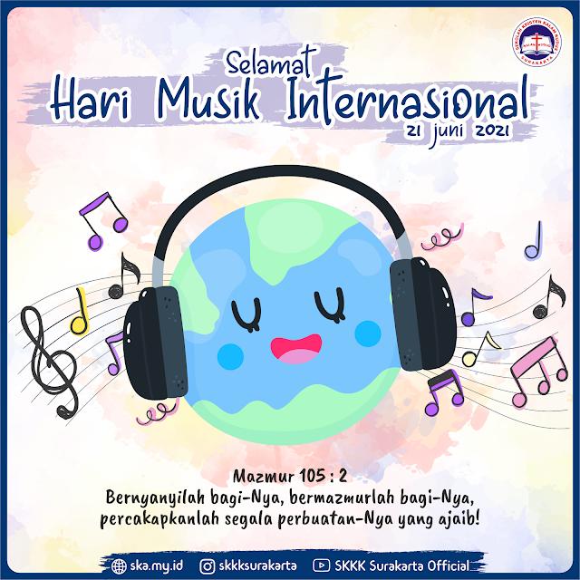 Selamat Hari Musik Internasional