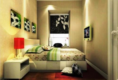 Cara sempurna menata kamar tidur dengan bentuk panjang Rancangan Tips Menata Kamar Tidur Memanjang