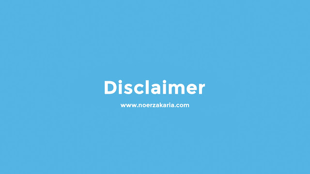 disclaimer noer zakaria