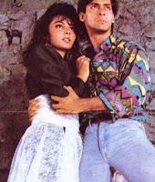 Salman Khan dengan Somi Ali