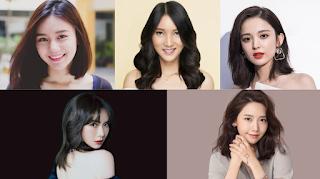 Model rambut sebahu 2021