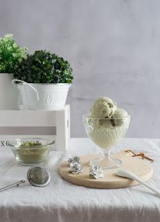 Receta para preparar Helado de Té Matcha