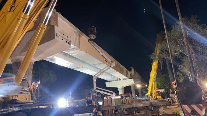 कानपुर मेट्रो: U-गर्डर से लंबा पर वज़न में हल्का है स्टील गर्डर