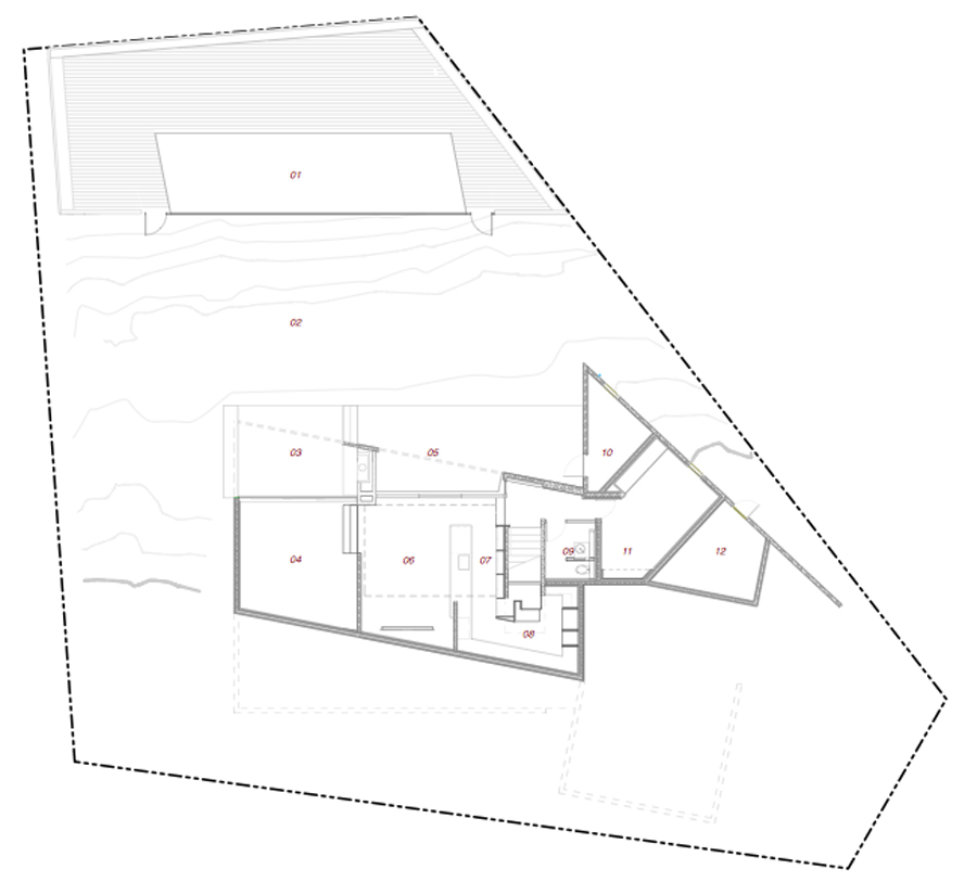 mặt-bằng-trệt-biệt-thự-3-tầng