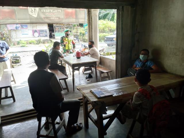 Berikan Himbauan Kepada Warga Binaan, Personel Jajaran Kodim 0207/Simalungun Laksanakan Gakplin