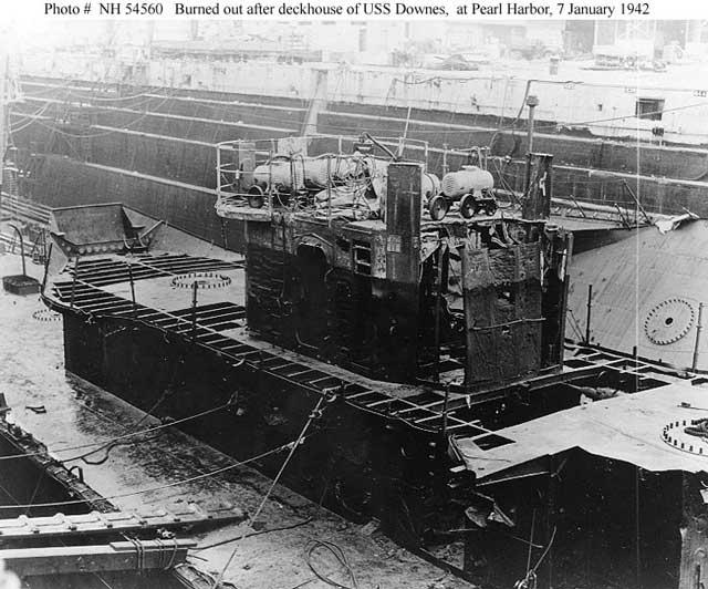 USS Downes (DD-375) on 7 January 1942 worldwartwo.filminspector.com