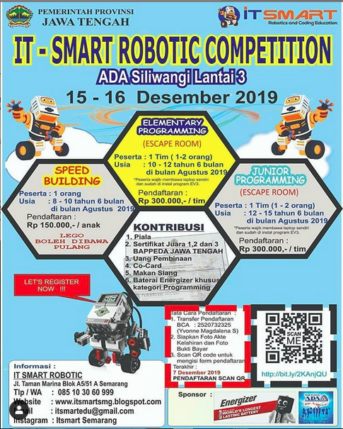 It Smart Robotic Competition Semarang