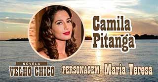 Personagem Maria Teresa Velho Chico